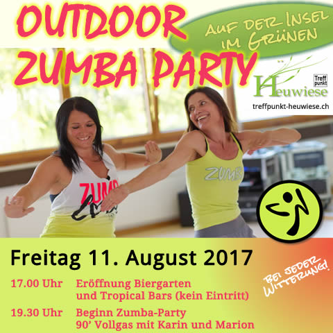 OUTDOOR ZUMBA PARTY